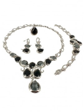 SALE - Smokey Allure Jewellery Set